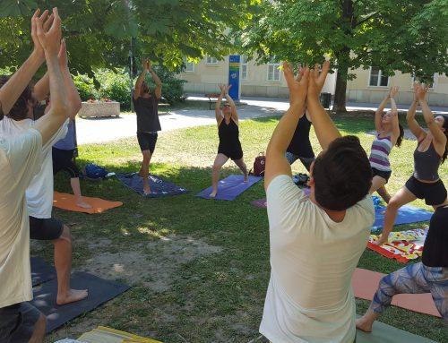 Lasst uns im Freien yogieren! (Beitrag vom Sommer 2017)