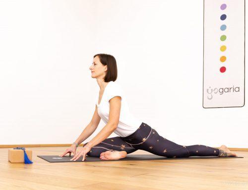 ONLINE **LIVE** Yogastunden – Wie geht das?