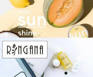 Collage zu Produkten von Ringana