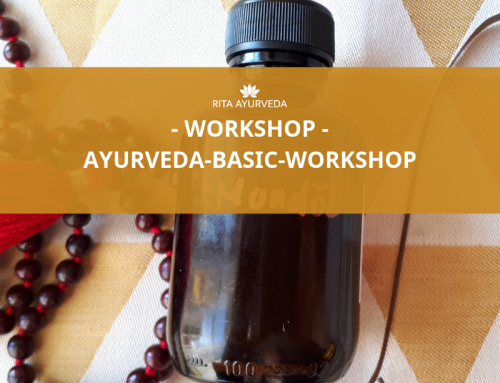 Ayurveda Basic Workshop mit Rita am 8.3.2020