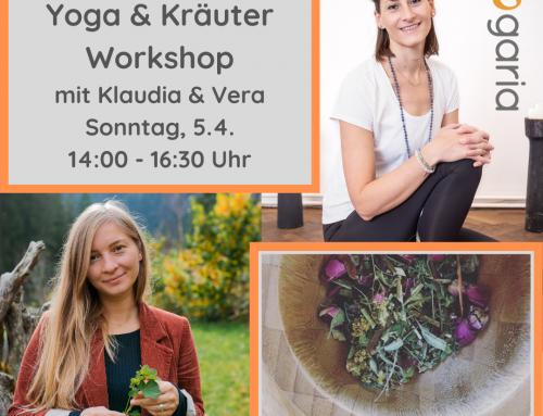 DETOX Yoga & Kräuter Workshop am 5.4.2020