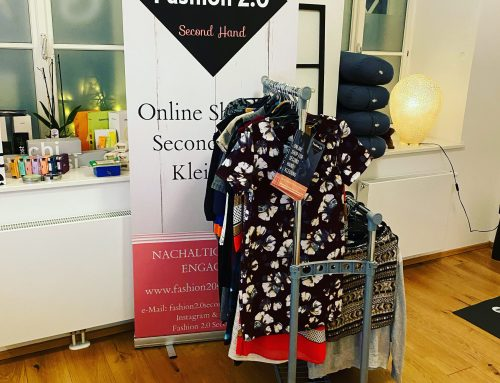 Fashion 2.0 Second Hand Pop-up Store in der Yogaria