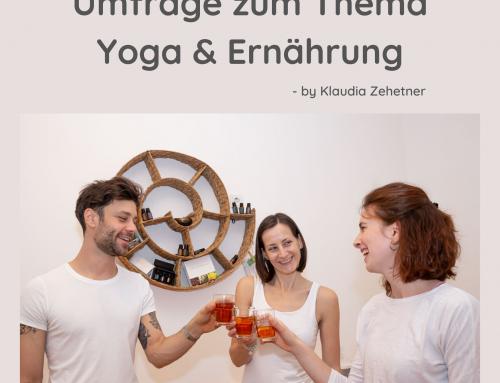 Umfrage Yoga & Ernährung