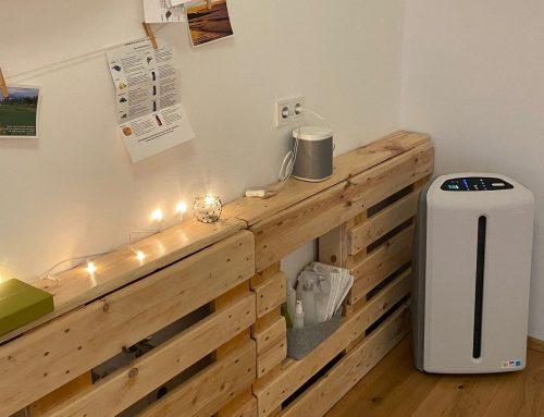 Luftfiltersystem in der Yogaria
