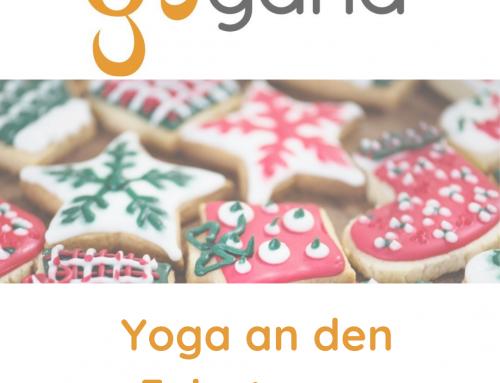 Yoga an den Feiertagen