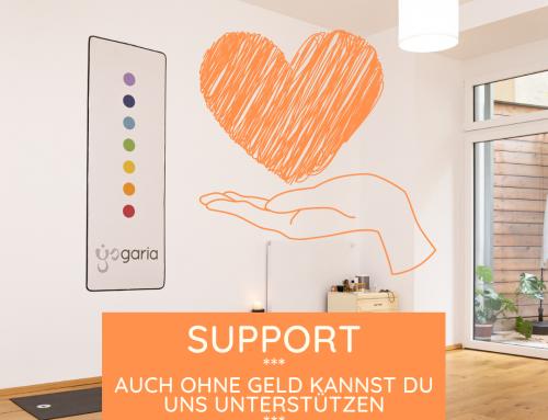 Support, wie kannst du uns auch ohne Geld unterstützen?