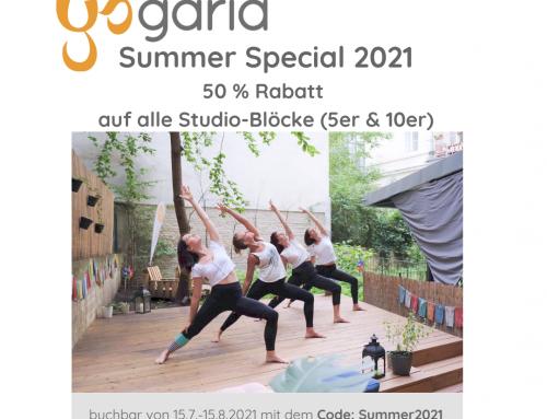 Summer Special 15.7.-15.8.2021