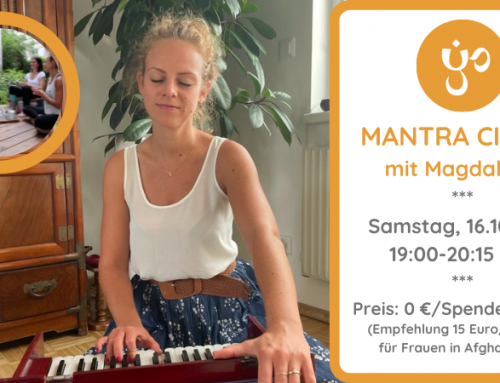 Mantra Circle mit Magdalena 16.10.21