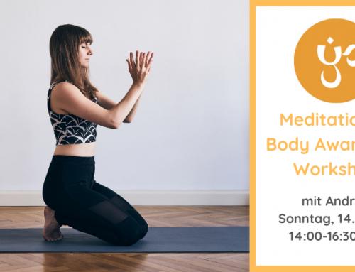 Meditation & Body Awareness Workshop mit Andrea